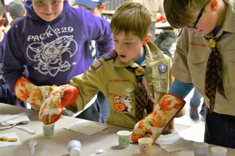 Scouts learn about disabilities